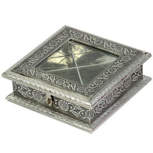Silver Chocolate Box