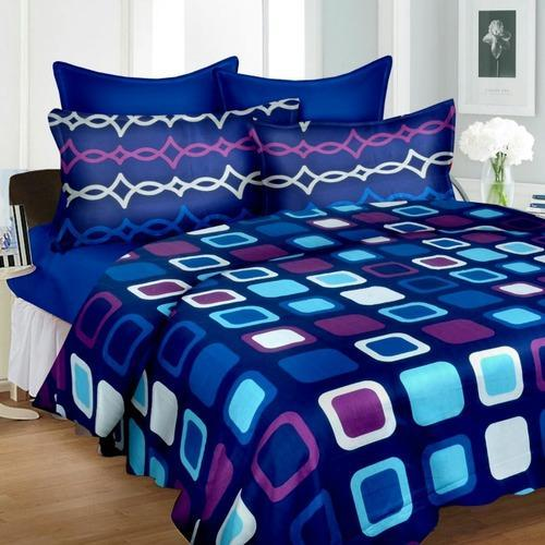 Charmant Premium HD Procion Processed Cotton Double Bedsheets Sets