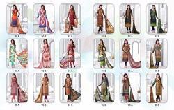 Chanderi Ladies Suits