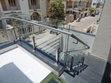 Standard Stainless Steel Mini Square Balustrade With Glass Railing