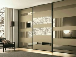 Modular Sliding Wardrobe, Height: 6-8 feet