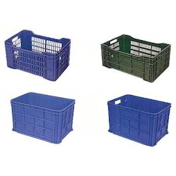 Heavy Duty Fruits Plastic Crates