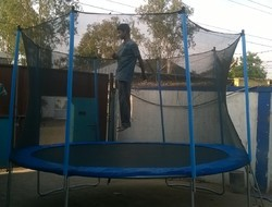 Trampolines With Side Safety Net