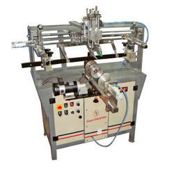 Deluxe Semi Auto Round Screen Printing Machine