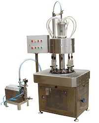 Automatic Rotary Perfume Filling Machine