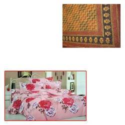 Floral Print Bed Sheet for Home