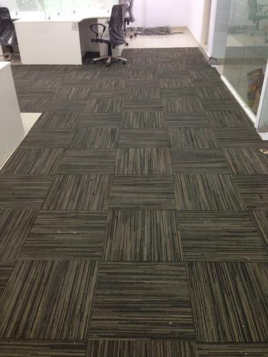 Nylon Carpet Tile, Thickness: 14mm+, Size: Medium