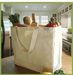 Flymax Plain Organic Cotton Bags, Capacity: 5-10 Liter