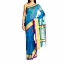 Multicolor Body Designed Banarasi Handloom Saree