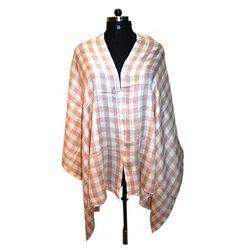 Pashmina (Cashmere) Check Strips Scarves