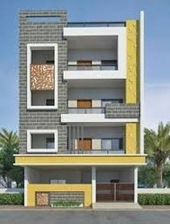 Building Elevation Design In Hyderabad Musheerabad By Sr