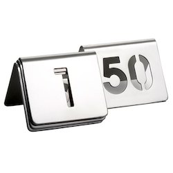 Numbers Tent Cut Out Sign
