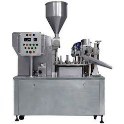 Semi Automatic Tube Paste Filling Sealing Machine