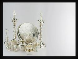 Silver Pooja Stand