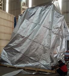 Silver Moisture Barrier Foil Bag