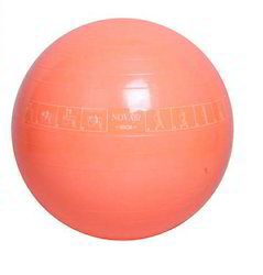 Novafit Instruction Printed Gym Ball 55 Cm