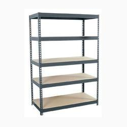 Upto 8 Feet Iron Storage Rack, For Industrial,Commercial, 71x33x12 Inch