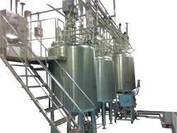 Stainless Steel Ointment Manufacturing Vessel, Capacity: Up To 5000 L
