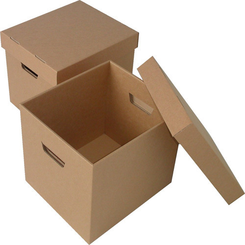Brown Corrugated Paper Packaging Box
