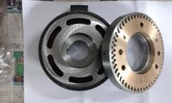 Electromagnetic Bearing Mounted Tooth Clutches