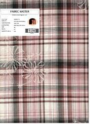 Yarn Dyed Checks Embroidery Fabric FM000215