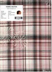 Yarn Dyed Checks Embroidery Fabric FM000215