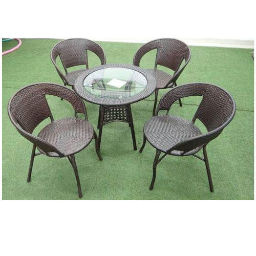 Garden Chair With Center Table Seating