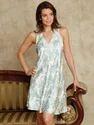 Cotton White Short Dress Nightwear