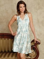 Cotton White Short Dress Nightwear