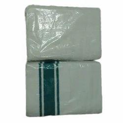 OSP BRAND White Cotton Terry Towel, 450-550 GSM, Size: 30 X 60 32 X 64