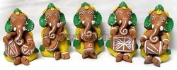 Amazing Music Set Ganesha Statue