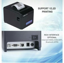 Black HOP Thermal Printer, Model No.: 801