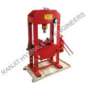 Hand Operated Hydraulic Press  20 Ton