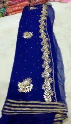 Fancy Partywear Saree