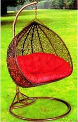 Double Seater PE Rattan Hanging Chair
