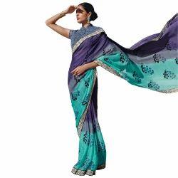 637e59844 Chanderi Saree - Chiffon Saree Exporter from New Delhi