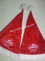 Santa Cap with Brand
