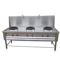 Commercial Stainless Steel Burner Range