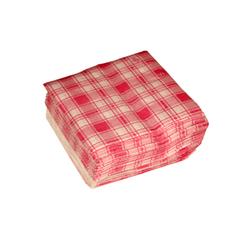 Checkered Paper Napkin