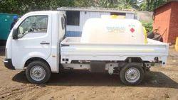 Gemini Mobile Fuel Bowser Polyethylene Tank