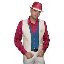 Party Wear Mens Waistcoat