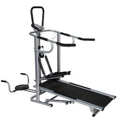 Manual treadmills novafit 4 in 1 multi functional treadmill.