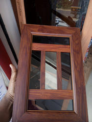 Wooden Grain Finish In Powder Coating