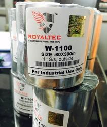 Royaltec Wax W-1100 Barcode Ribbons
