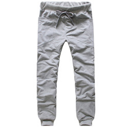 Large Grey Men's Knitted Pant