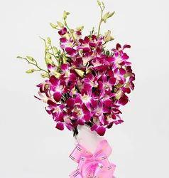 Cute Purple Orchid Bouquet