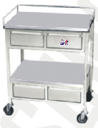 Medical Trolley with 4 Drawer