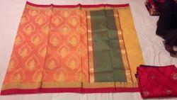 Weaving Kora Saree