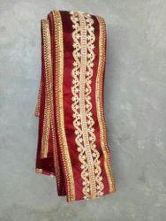 Designer Velvet Sherwani Dupatta