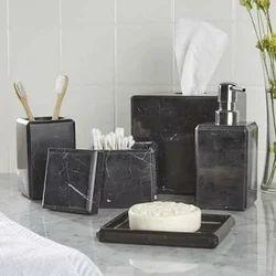 Saudeep India Trading Corporation Marble Bath Set